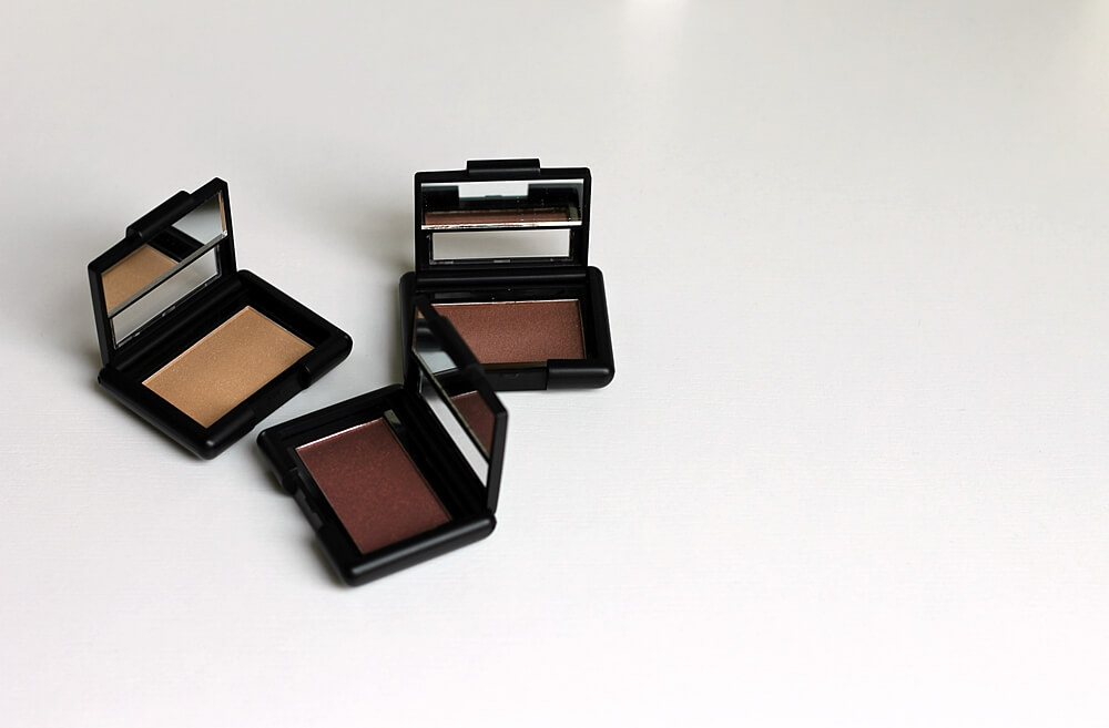 elf single eyeshadow wild wheat, raspberry truffle, saddle recenzija