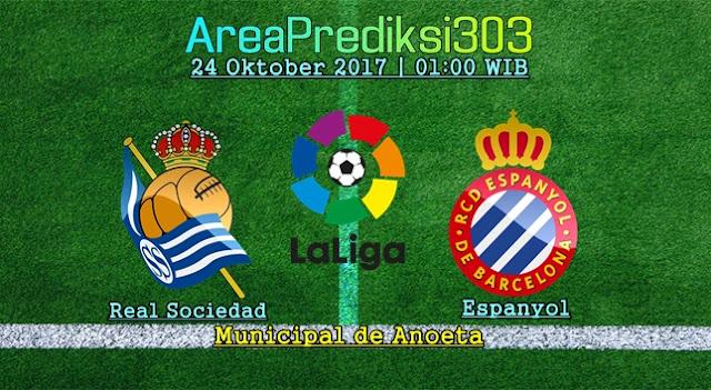 Prediksi Jitu Real Sociedad vs Espanyol 24 Oktober 2017