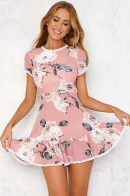 vestidos estampados para jovenes
