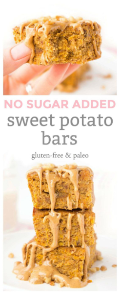 Sweet Potato Bars