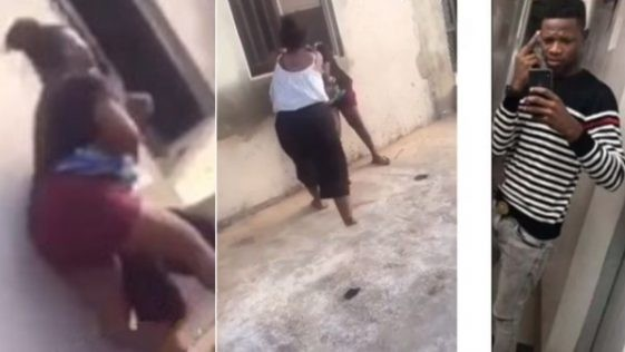 Female OOU Students Fight Dirty Over Boyfriend