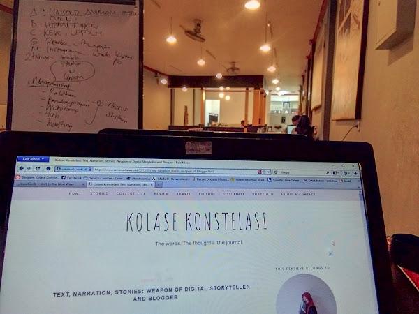 Blogger Ruang Tunggu dan Kerinduan Kita Bersama Akan Tulisan Organik