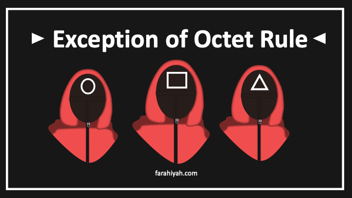 exception of octet rule