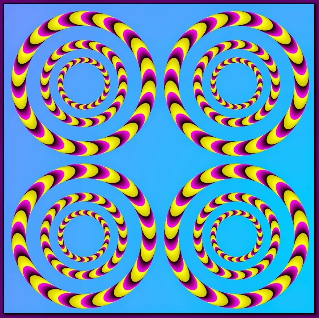illusions optical moving spirals rotating colorful illusion trippy animated eye move non animation colors 3d spinning cool eyes colour circles