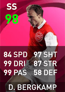 Max Rating PES 2021 Dennis Bergkamp (Iconic Moment, 98)