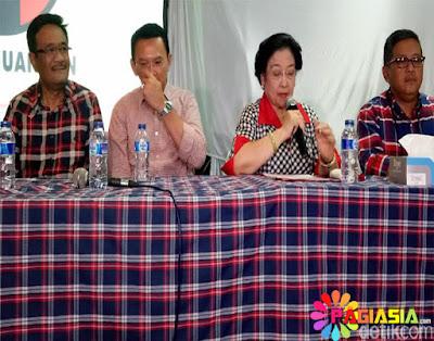 Mega Menyatakan Untuk Bersiap-siap Pada Putaran 2 dan Meminta Kepada Kader Partai Untuk Harus Kawal Suara Nanti