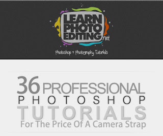 36 professional #Photoshop tutorials for the price of a camera strap