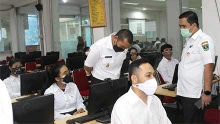 ujian CPNS di Kampus UPI