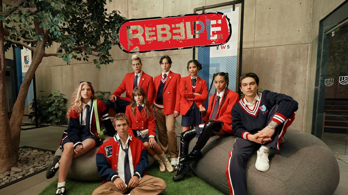 Netflix presenta el nuevo uniforme de los alumnos de Rebelde