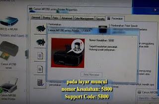 Download Resetter Canon MP237 Error 5B00