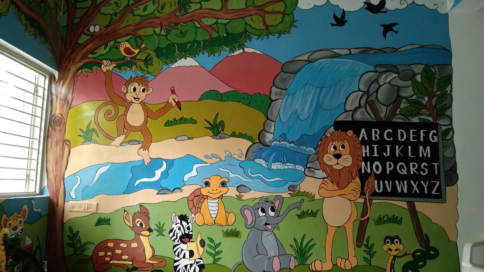 Art Painting Wall Painting Pre School