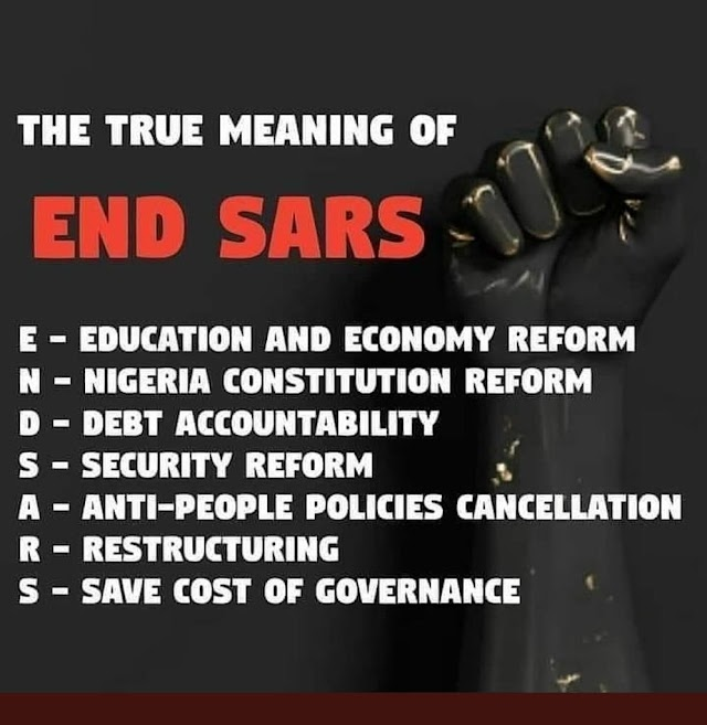 Politicizing #EndSARS Protest Is Irresponsible