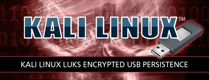 Latest Kali Linux 1.0.7 Offers Persistent Encrypted Partition on USB Stick