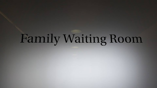 the family waiting room at NYU Langone Hospi