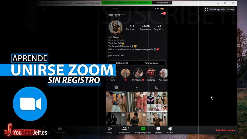 Como Ingresar a una Sala de Zoom, Unirse a Clase Virtual