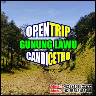 Open Trip Pendakian Gunung Lawu Via Candi Cetho Karanganyar Jawa Tengah 2H1M