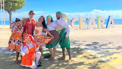 Grupo do Ceará retorna ao Festival do Folclore de Olímpia após sete anos