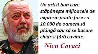 Maxima zilei: 19 aprilie - Nicu Covaci