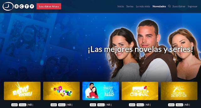 Página Web RCTV.com