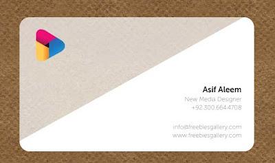 diseño plantilla de tarjetas de presentación