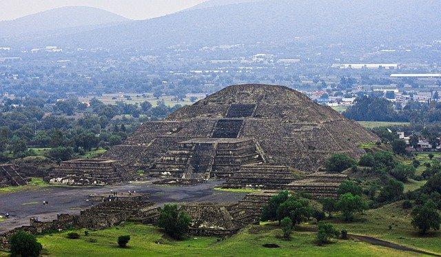 Pirámide del sol Teotihuacán México