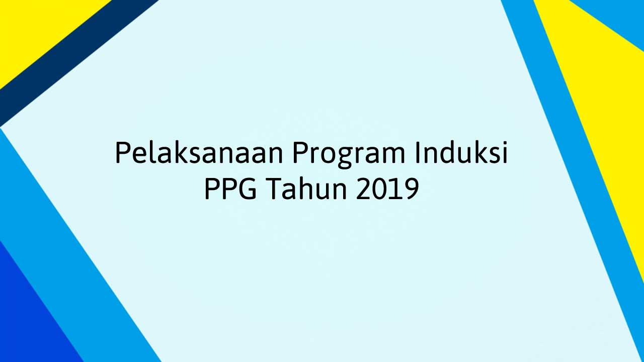 program induksi ppg 2019