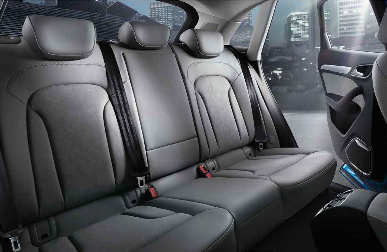 Dimensioni degli interni di Audi Q3
