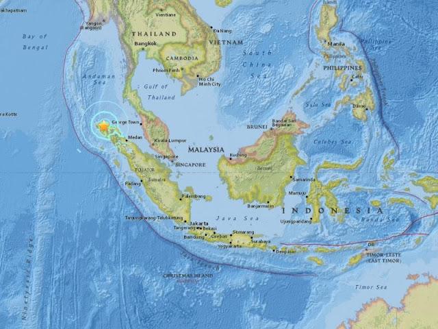 Gempa 6,5 Skala Richter Guncang Aceh, Lokasi yang Pernah Terjadi Tsunami