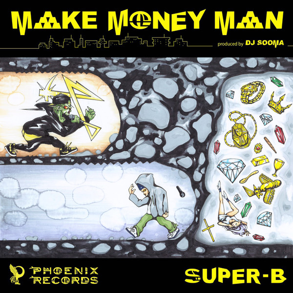 [Single] SUPER-B – MAKE MONEY MAN (2016.05.11/MP3/RAR)