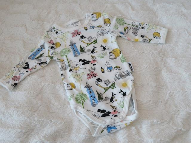 vauvanvaatteet muumit body