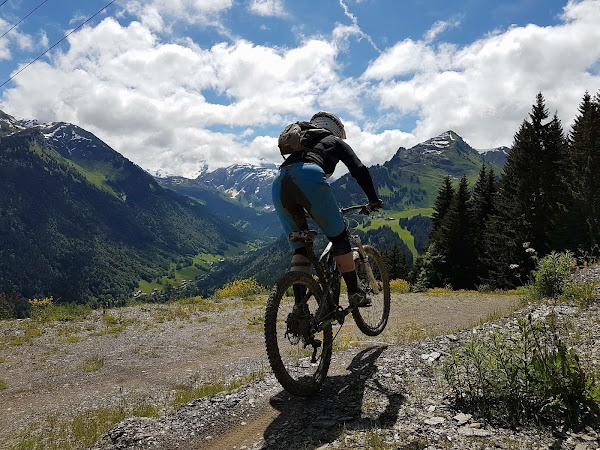 A trip in the mountains - Morzine