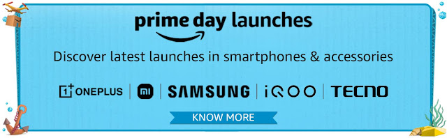 Best Amazon Prime Day 2021 Offers & Deals on Top Smartphone Brands