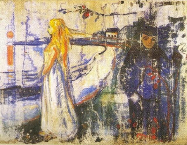 Edvard Munch: «Separación» (1894)