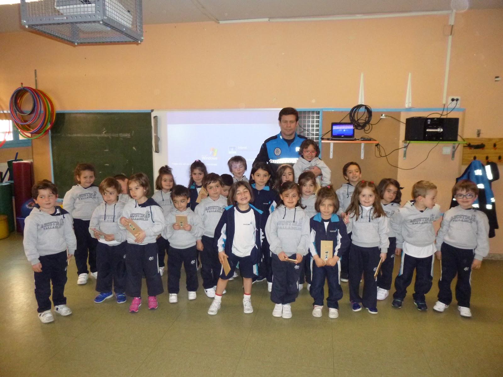 Agustinas Valladolid - 2017 - Infantil 4 - Policía Municipal 4