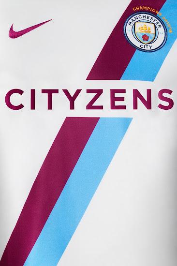 online retailer 57641 36e13 Nike Manchester City 2018 Premier League Champions Kit ...