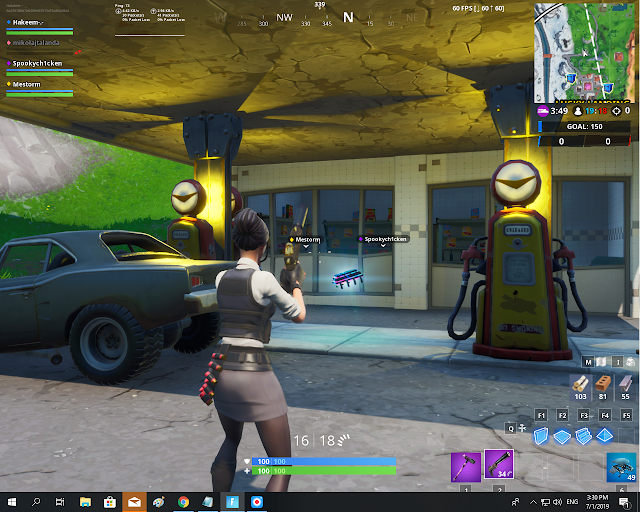 Found somewhere between Lucky Landing and Fatal Fields FORTBYTE Mission #63