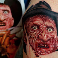 tatuaje para halloween freddy krueger