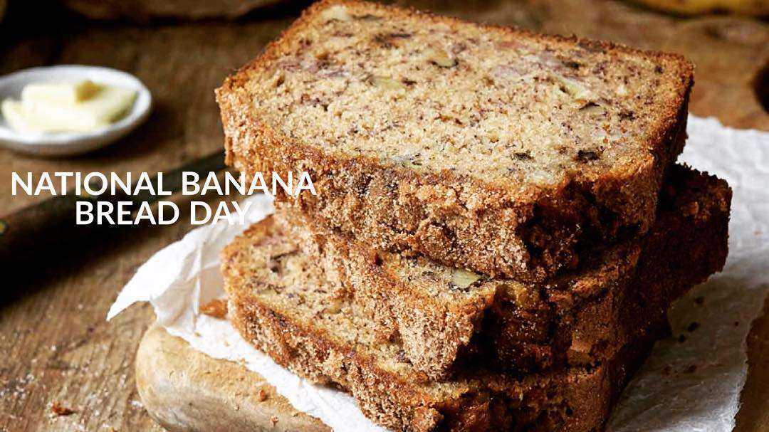 National Banana Bread Day Wishes Unique Image