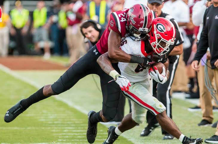 South Carolina Upsets Georgia 20-17