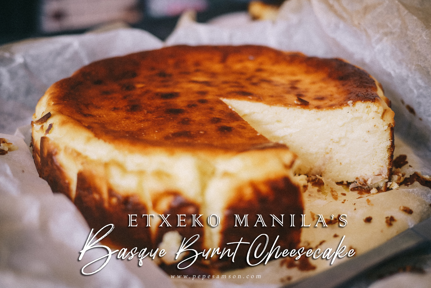 That Burnt Cheesecake All Over Instagram, and Where to Get It (Etxeko Manila)