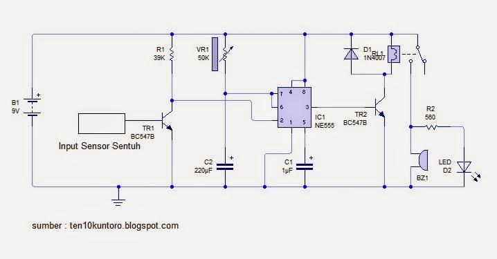 Teknik Mekatronika Dan Elektronika  Sensor Anti Maling