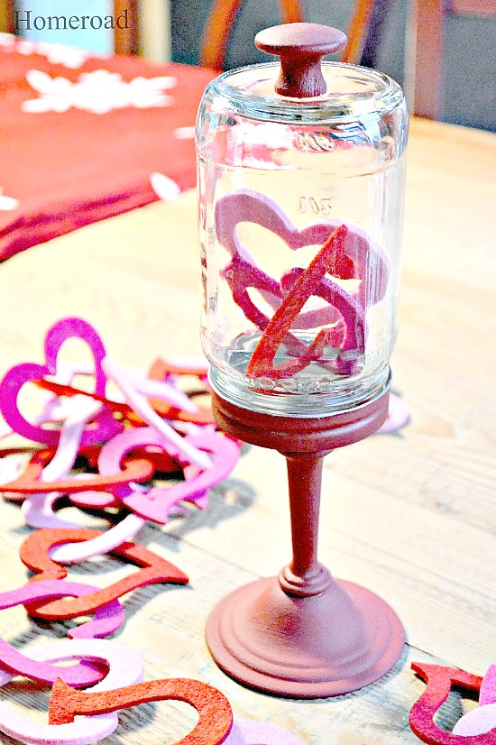 Easy Valentine Cloche to fill with treats