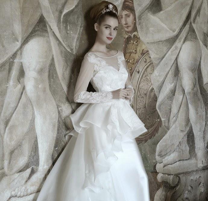 abiti da sposa 2015 Aimée e suggerimenti temi matrimonio