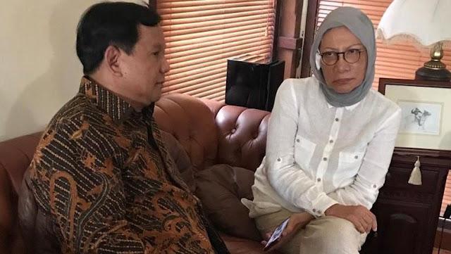 Prabowo Temui Ratna Sarumpaet, Simak Cerita Penganiayaan