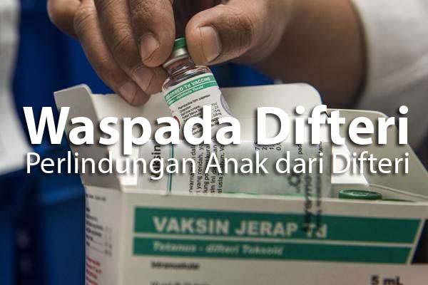 Pentingnya memberikan vaksin DPT pada anak