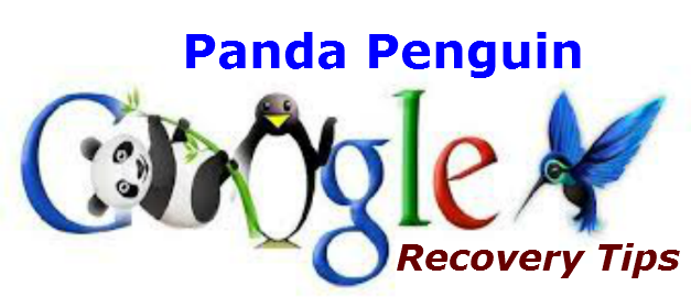 Panda Penguin Penalty & Recovery Tips