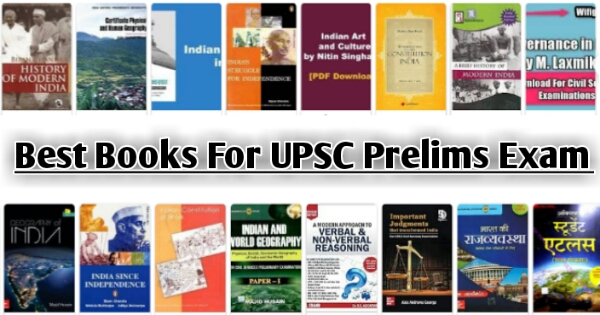 Best Books For UPSC Prelims 2021