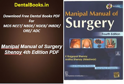 Manipal Manual of Surgery Shenoy 4th Edition PDF