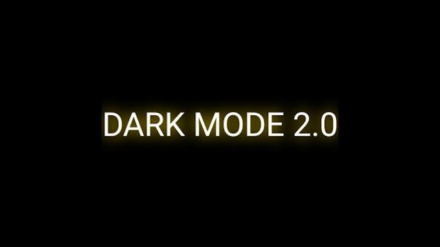 xiaomiintro dark mode 2.0 MIUI 12