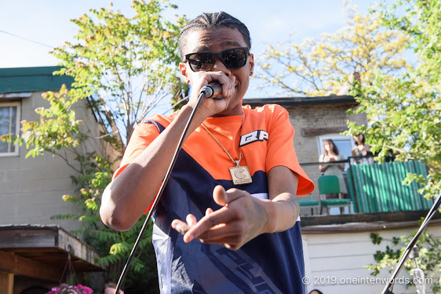 Jayy Grams at The Royal Mountain Records BBQ at NXNE on June 8, 2019 Photo by John Ordean at One In Ten Words oneintenwords.com toronto indie alternative live music blog concert photography pictures photos nikon d750 camera yyz photographer